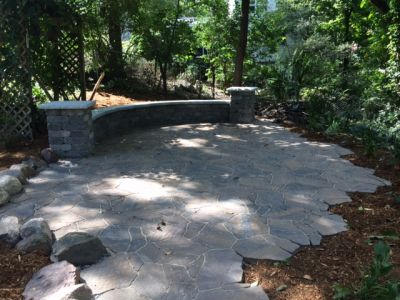 Mega Arbel Stone Patio